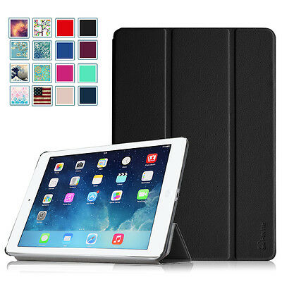 Slim Flip Leather Case WakeSleep Cover for Apple iPad Air 1st Gen