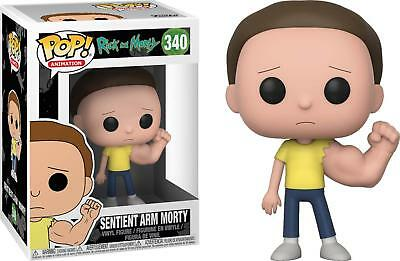 Funko Pop Rick and Morty Sentient Arm Morty Sentinent Muscle 340 In Hand