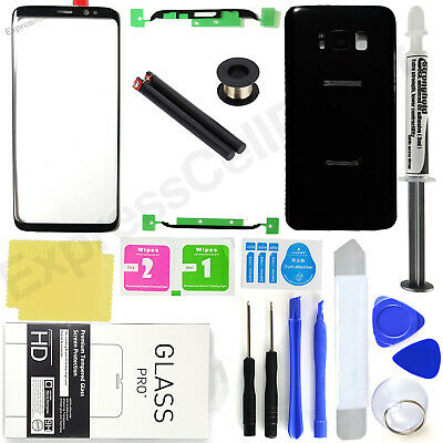 Front Screen Lens Back Glass Replacement Repair Kit for Samsung Galaxy S8S8-