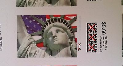 Priority Mail Postage 24 pieces 5-60 Stamps face value 134-40