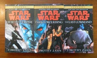 Star Wars Thrawn Trilogy wnew cover painting by Timothy Zahn shipped in box