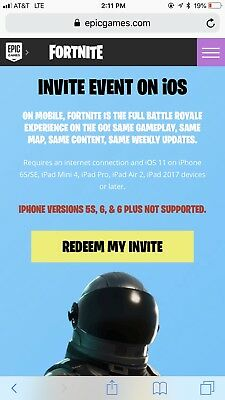 fortnite mobile invite codes