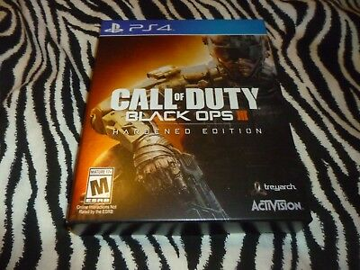 Call Of Duty Black Ops III Hardened Edition PS4