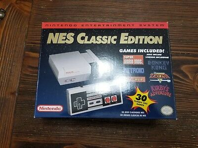 Nintendo Entertainment System NES Classic Edition 30 Games Castelvania Zelda