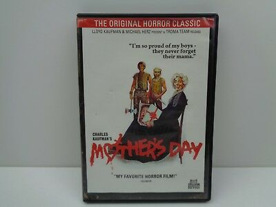 Mother's Day DVD 2012 Troma Retro Classic Horror
