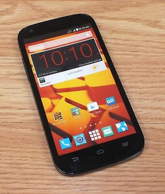 ZTE Black  Grey Smartphone Style Fake Screen Dummy Phone Only READ