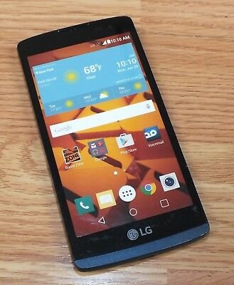 LG Black - Blue Smartphone Style Fake Touch Screen Dummy Phone Only READ