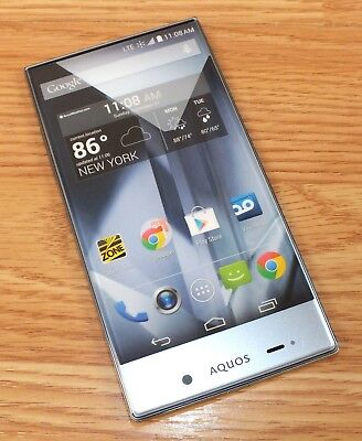 Sharp Aquos Smartphone Style Fake Screen Dummy Phone Only READ