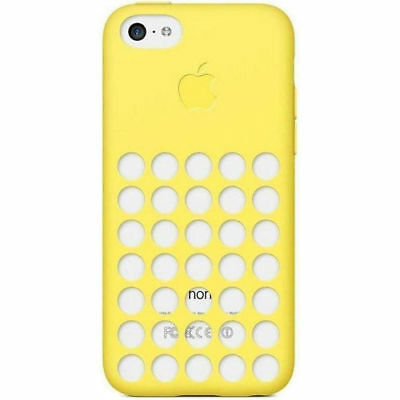 Apple - Silicone Case for Apple® iPhone® 5c – Yellow MF038ZMA FREE SHIPPING