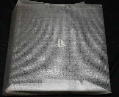 New PlayStation 4 Pro 4K Console - Power Cable Only PS4 Pro Warranty Jet Black