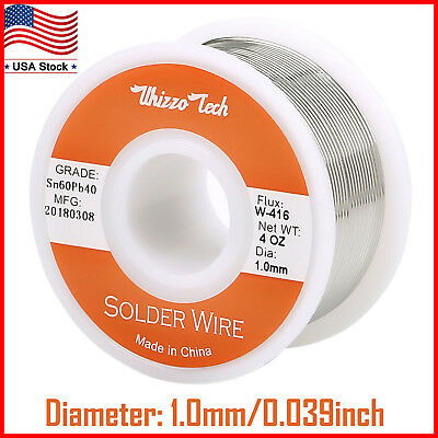 60-40 Tin Lead Rosin Core Solder Wire for Electrical Solderding -0391-0mm 100g