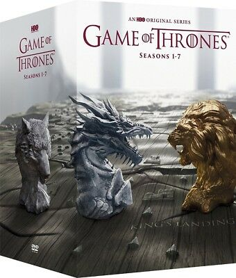 Game of Thrones Complete Series Season 1-7 Boxset DVD 34-Disc 1 2 3 4 5 6 7