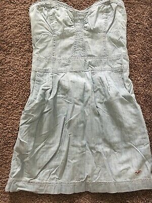 Abercrombie hollister - Co Summer Strapless Chambray Dress M