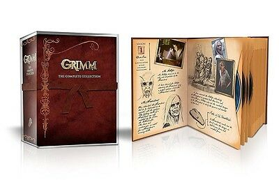 Grimm The Complete Series Season 1-6 Boxset DVD 2017 29-Disc 1 2 3 4 5 6