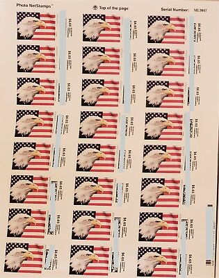 USPS Postage 6-65 Stamps one sheet face value 159-60 one sheet has 24 pieces