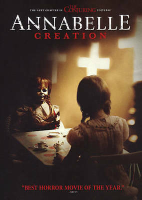 Annabelle Creation DVD 2017 SHIPS IN 1 BUSINESS DAY WTRACKING