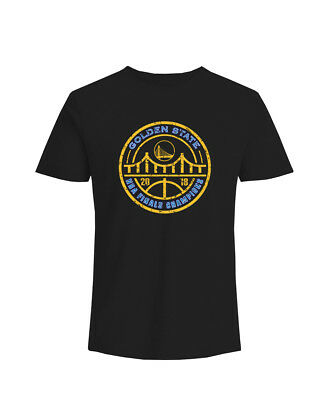 Golden State Warriors Champions NBA 2018 Final DTG Unisex T-Shirt 4