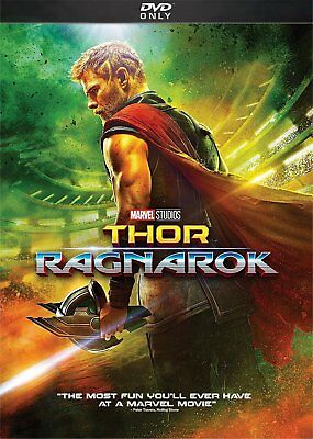 Thor Ragnarok DVD 2018 SHIPS IN 1 BUSINESS DAY WITH TRACKING