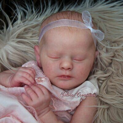 Realborn® Evelyn Sleeping TWIN 19 Reborn Doll Parts Kit