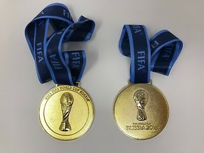 2018 RUSSIA FIFA WORLD CUP GOLD WINNER REPLICA MEDAL