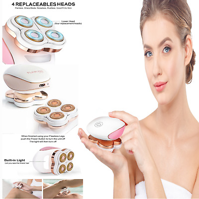 Flawless Women Legs Hair Removal Rechargeable Painless Epilator Unisex Device