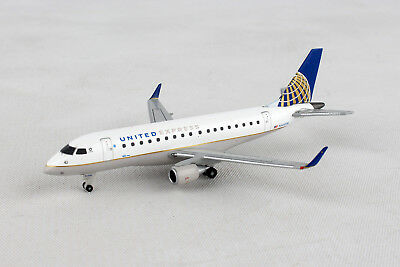 Herpa Wings United Express Embraer E170 562584 RegN644RW 1400 New