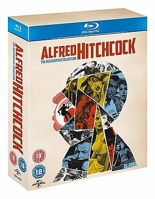 Alfred Hitchcock The Masterpiece Collection Blu-ray 14 Discs Region Free NEW