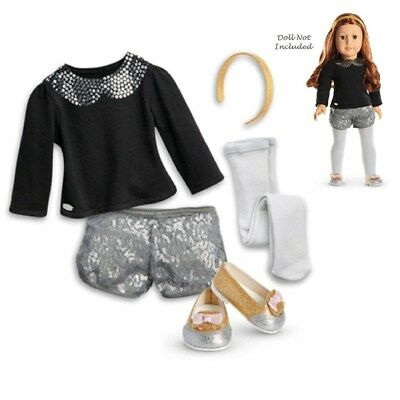 American Girl TRULY ME SPARKLE SPOTLIGHT OUTFIT for 18 Dolls Clothes Shoes NEW