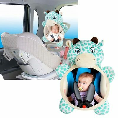 US Newborn Baby Kids Mirror Back Car Seat Cover for Child Rear Ward Safety View