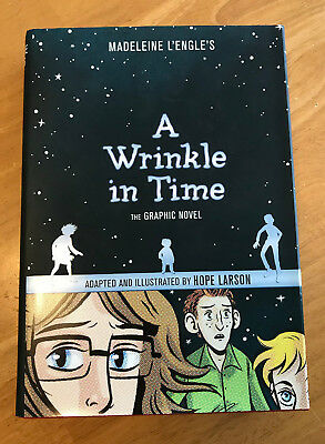 A Wrinkle in Time The Graphic Novel LEngle Larson 2012 Hardcover