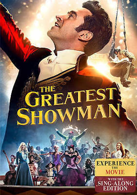 The Greatest Showman DVD 2018 SHIPS WITHIN 1 BUSINESS DAY WTRACKING