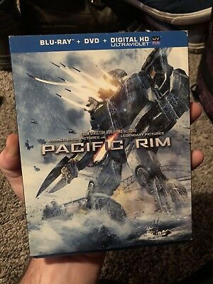 Pacific Rim Blu-ray with SLIPCOVER