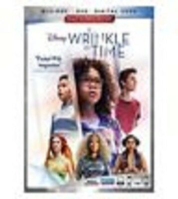 A WRINKLE IN TIME Blu-Ray Combo Pack2018 NewSealed wslipcover