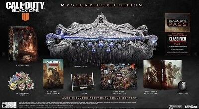 Call Of Duty Black Ops 4 - Mystery Collectors Box Edition PS4 Presale