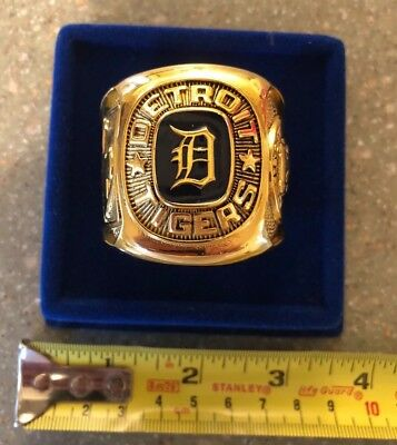 Detroit Tigers World Series Commemorative Ring Oversized