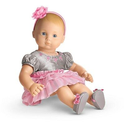 American Girl Bitty Baby Twirly Tiered Dress for Bitty Baby Dolls
