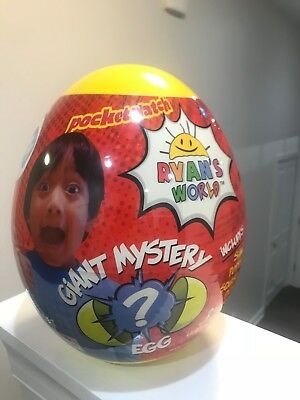 Ryans World Yellow Giant Mystery Egg Toy Rare Hot Surprise Toys Youtube Slime
