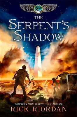 The Kane Chronicles The Serpents Shadow Bk- 3 by Rick Riordan 2012 Hardcover