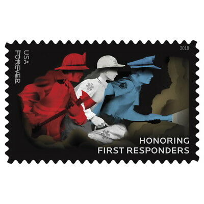 USPS New Honoring First Responders Pane of 20
