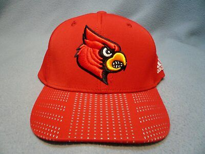 Adidas Louisville Cardinals Flex March Madness LXL BRAND NEW Curved Bill hat