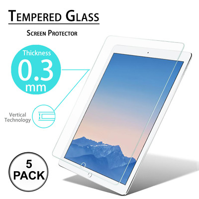 For New iPad 6th Generation 9-7 inch 2018 Tablet Tempered Glass Screen Protector