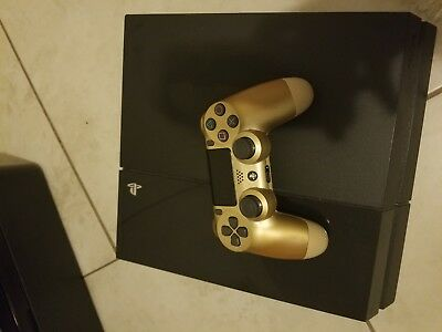 Ps4  playstation 4 console with a controller