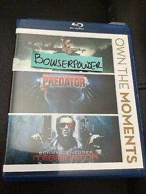 Predator Arnold Schwarzenegger Blu Ray Disc With Case And Artwork Only-