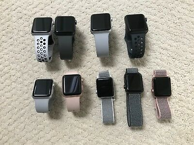 Apple Watch Series 3 AluminumSteel Case 38mm42mm GPSCellular