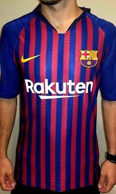 FC BARCELONA 1819 jersey Authentic player version Home Messi 10 XL
