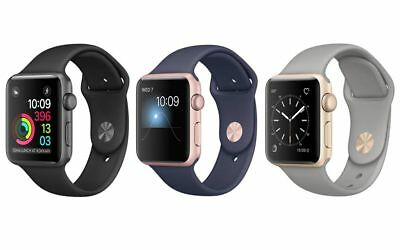 Apple Watch Series 2 Aluminum A Grade 38mm or 42mm Silver Rose Gold Space Gray