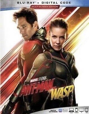 ANT-MAN AND THE WASPBLU-RAY-DIGITALWSLIPCOVER NEW
