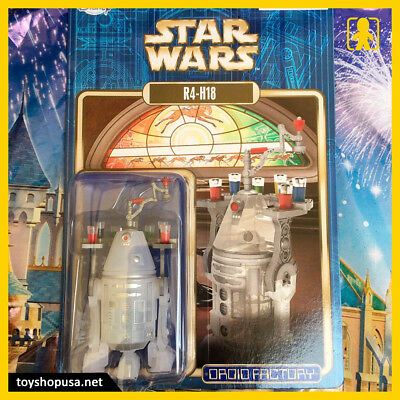 Disney Store Star Wars Droid Factory R4-H18 Action Figure