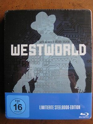 WESTWORLD STEELBOOK 1973 Region-Free Blu-Ray YUL BRYNNER - BRAND NEW