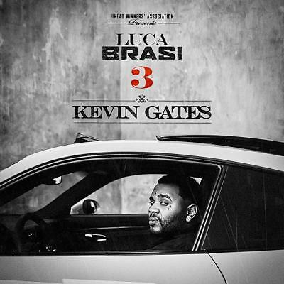 KEVIN GATES - LUCA BRASI 3 OFFICIAL MIXTAPE MIX CD- HOT